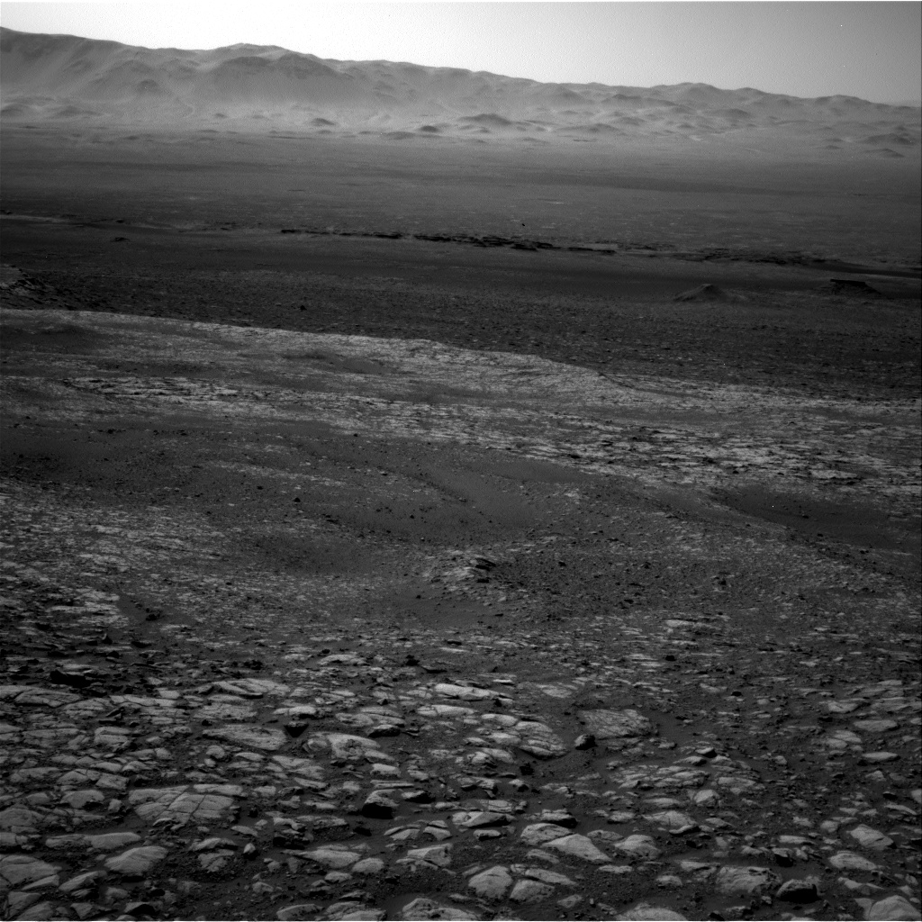 Nasa's Mars rover Curiosity acquired this image using its Right Navigation Camera on Sol 1989, at drive 1616, site number 68