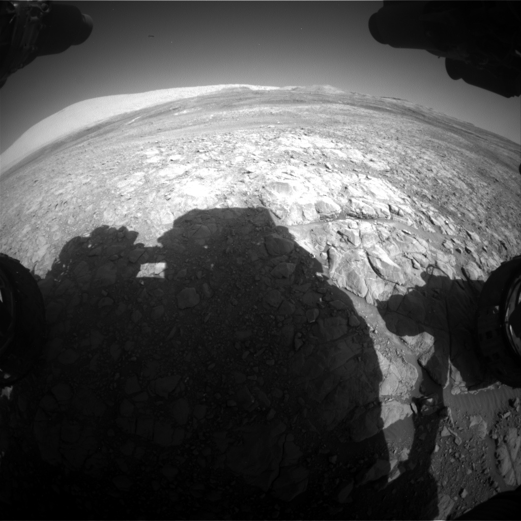 Nasa's Mars rover Curiosity acquired this image using its Front Hazard Avoidance Camera (Front Hazcam) on Sol 1990, at drive 1626, site number 68