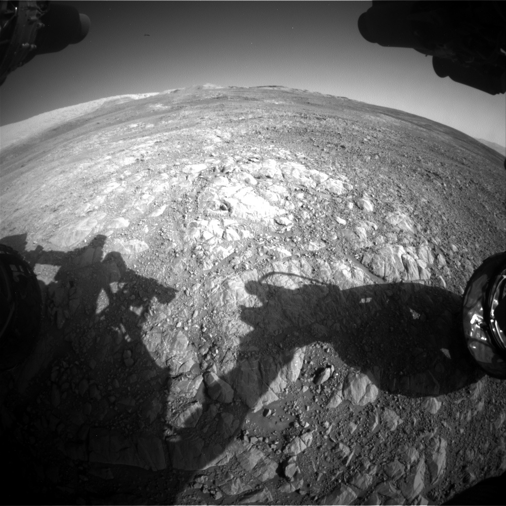Nasa's Mars rover Curiosity acquired this image using its Front Hazard Avoidance Camera (Front Hazcam) on Sol 1991, at drive 1816, site number 68