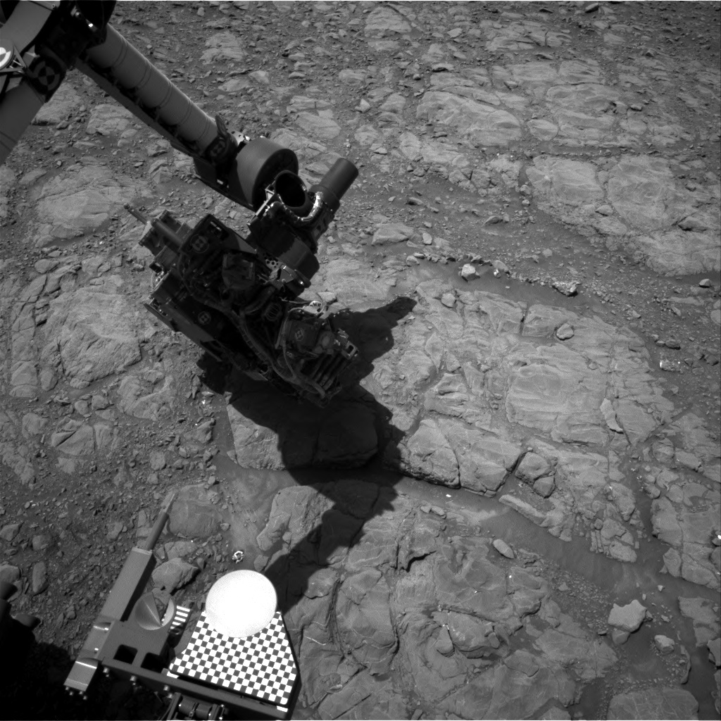 Nasa's Mars rover Curiosity acquired this image using its Right Navigation Camera on Sol 1991, at drive 1626, site number 68