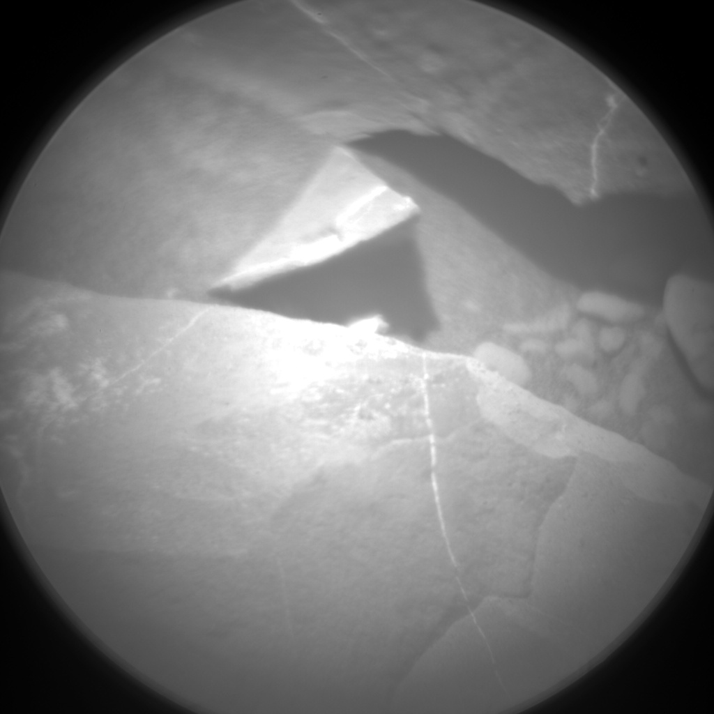 Nasa's Mars rover Curiosity acquired this image using its Chemistry & Camera (ChemCam) on Sol 1992, at drive 1816, site number 68