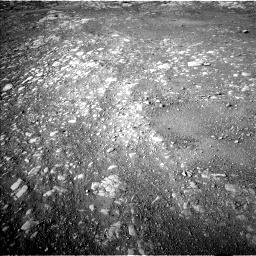 Nasa's Mars rover Curiosity acquired this image using its Left Navigation Camera on Sol 1993, at drive 1858, site number 68
