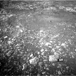 Nasa's Mars rover Curiosity acquired this image using its Left Navigation Camera on Sol 1993, at drive 1882, site number 68