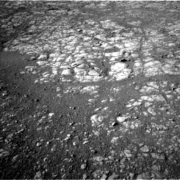 Nasa's Mars rover Curiosity acquired this image using its Left Navigation Camera on Sol 1993, at drive 1948, site number 68