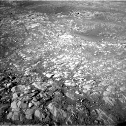 Nasa's Mars rover Curiosity acquired this image using its Left Navigation Camera on Sol 1993, at drive 2056, site number 68