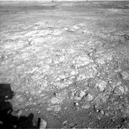 Nasa's Mars rover Curiosity acquired this image using its Left Navigation Camera on Sol 1993, at drive 2090, site number 68