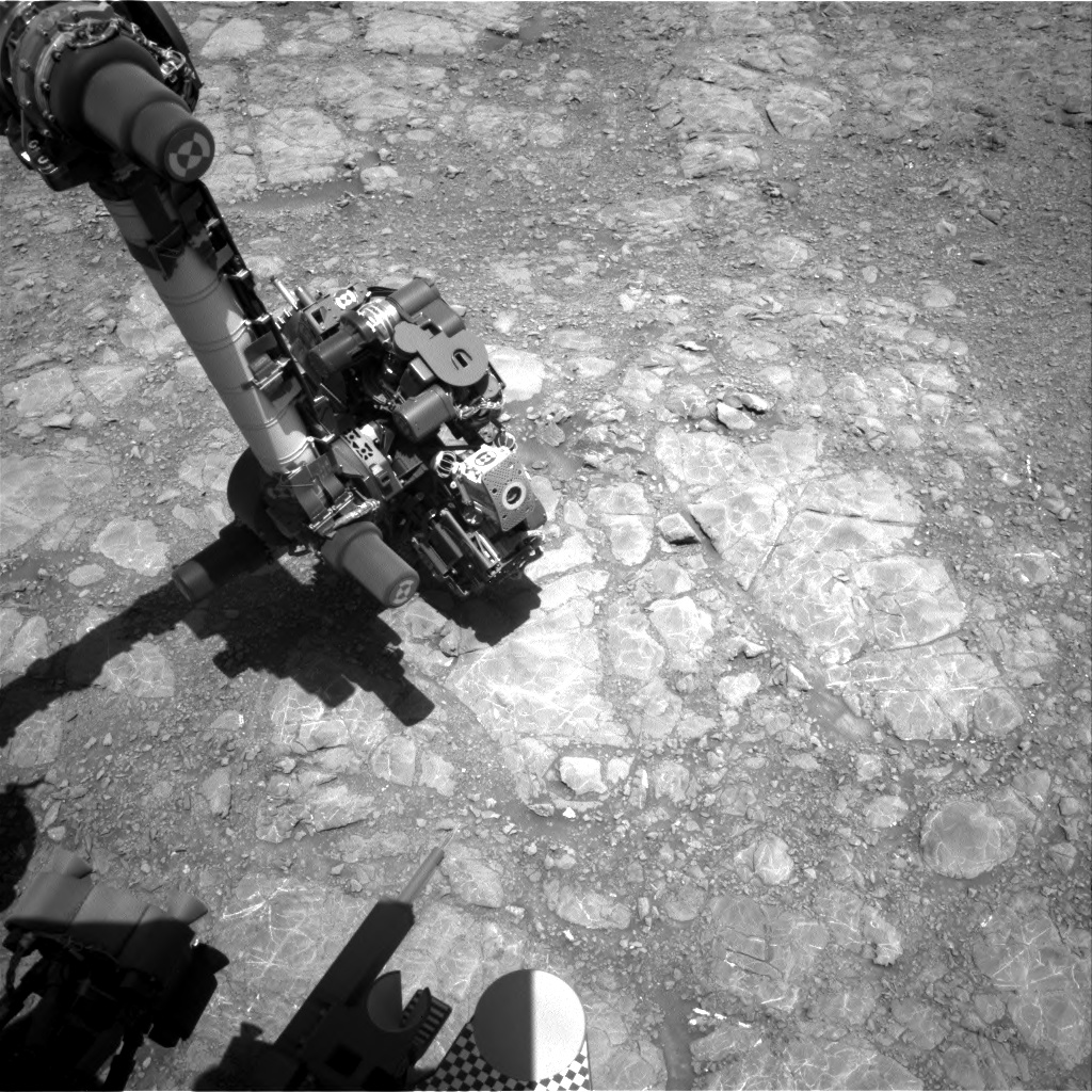 Nasa's Mars rover Curiosity acquired this image using its Right Navigation Camera on Sol 1993, at drive 1816, site number 68