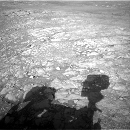 Nasa's Mars rover Curiosity acquired this image using its Right Navigation Camera on Sol 1993, at drive 2068, site number 68
