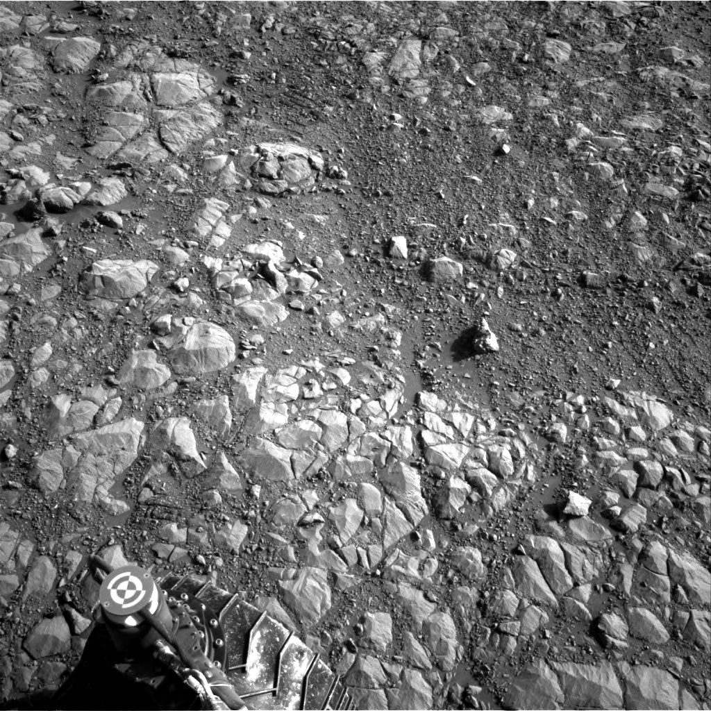 Nasa's Mars rover Curiosity acquired this image using its Right Navigation Camera on Sol 1993, at drive 2090, site number 68