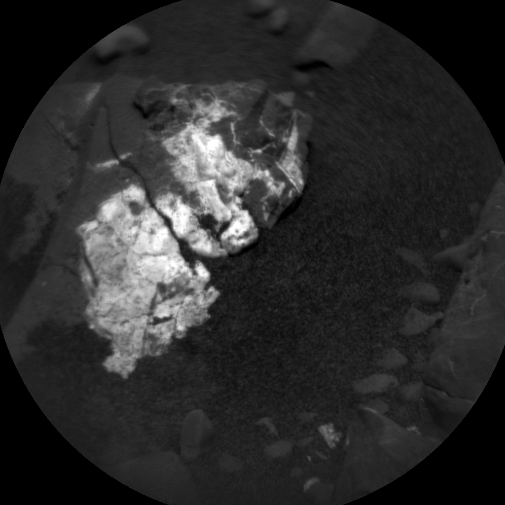 Nasa's Mars rover Curiosity acquired this image using its Chemistry & Camera (ChemCam) on Sol 1995, at drive 2090, site number 68