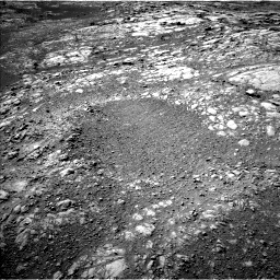 Nasa's Mars rover Curiosity acquired this image using its Left Navigation Camera on Sol 1996, at drive 2294, site number 68