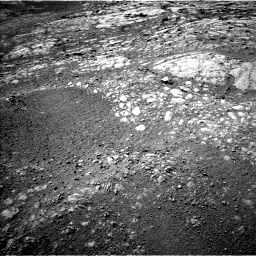 Nasa's Mars rover Curiosity acquired this image using its Left Navigation Camera on Sol 1996, at drive 2300, site number 68
