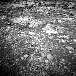 Nasa's Mars rover Curiosity acquired this image using its Left Navigation Camera on Sol 1996, at drive 2312, site number 68