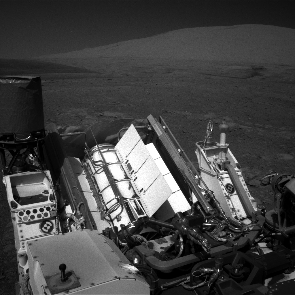 Nasa's Mars rover Curiosity acquired this image using its Left Navigation Camera on Sol 1996, at drive 2396, site number 68