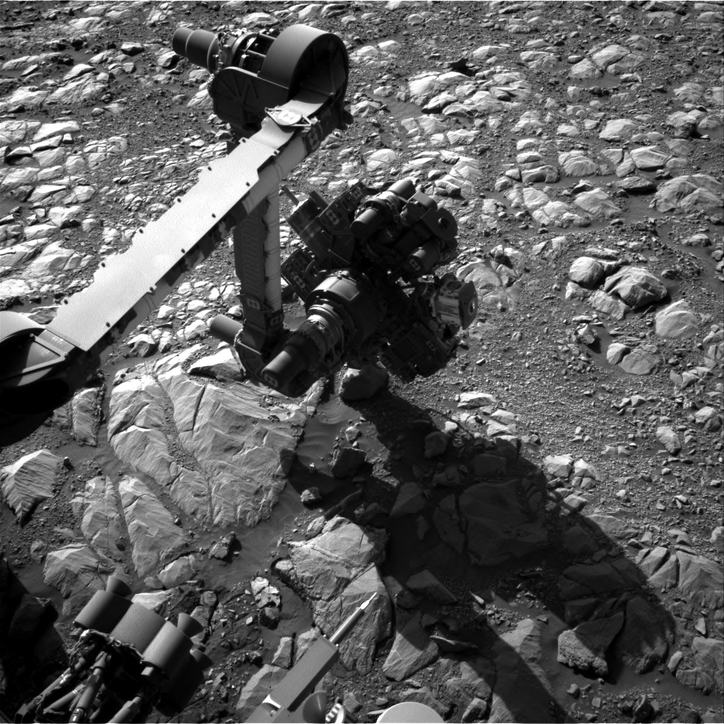 Nasa's Mars rover Curiosity acquired this image using its Right Navigation Camera on Sol 1996, at drive 2090, site number 68