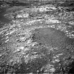 Nasa's Mars rover Curiosity acquired this image using its Right Navigation Camera on Sol 1996, at drive 2288, site number 68