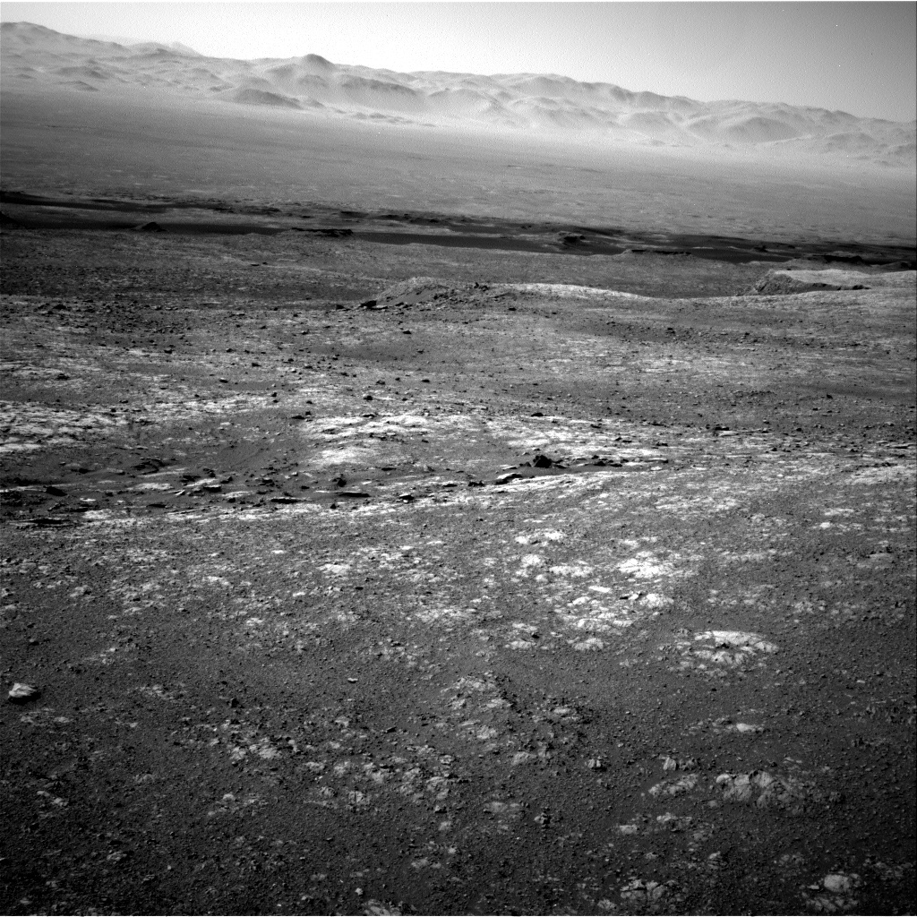 NASA's Mars rover Curiosity acquired this image using its Right Navigation Cameras (Navcams) on Sol 1996