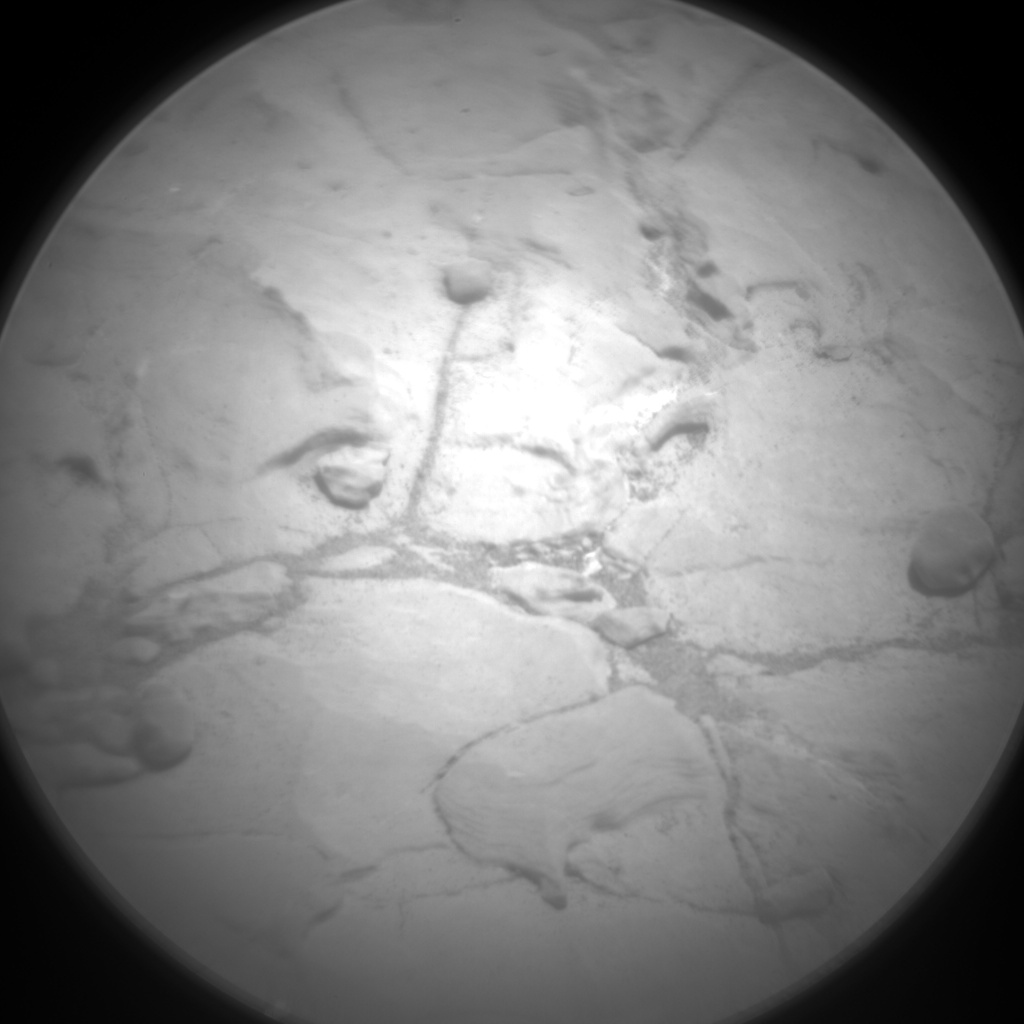 Nasa's Mars rover Curiosity acquired this image using its Chemistry & Camera (ChemCam) on Sol 1997, at drive 2396, site number 68