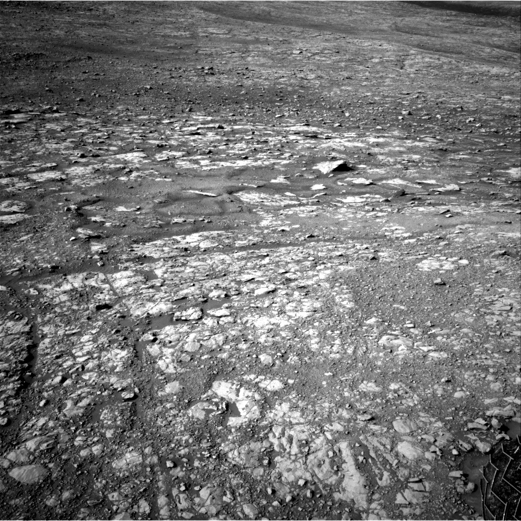 Nasa's Mars rover Curiosity acquired this image using its Right Navigation Camera on Sol 1998, at drive 2474, site number 68