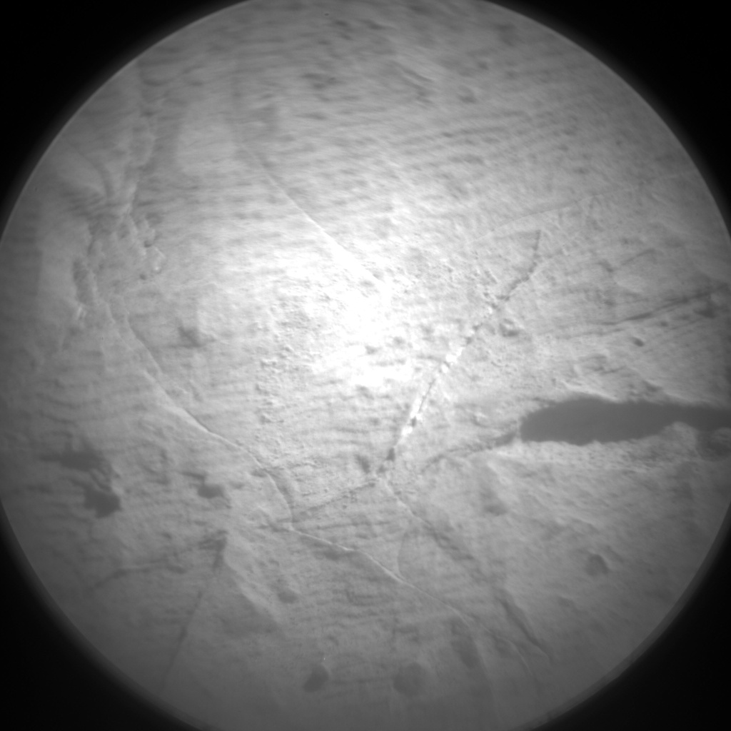 Nasa's Mars rover Curiosity acquired this image using its Chemistry & Camera (ChemCam) on Sol 1999, at drive 2626, site number 68