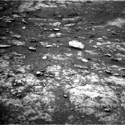 Nasa's Mars rover Curiosity acquired this image using its Left Navigation Camera on Sol 1999, at drive 2490, site number 68