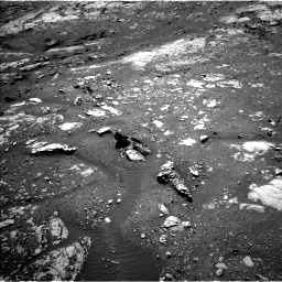 Nasa's Mars rover Curiosity acquired this image using its Left Navigation Camera on Sol 1999, at drive 2538, site number 68
