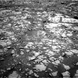Nasa's Mars rover Curiosity acquired this image using its Left Navigation Camera on Sol 1999, at drive 2604, site number 68