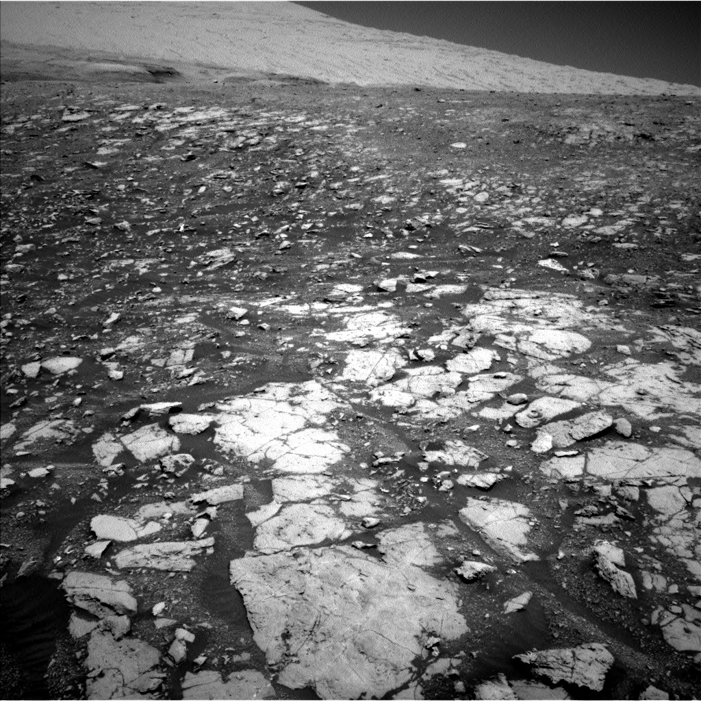 NASA's Mars rover Curiosity acquired this image using its Left Navigation Camera (Navcams) on Sol 1999