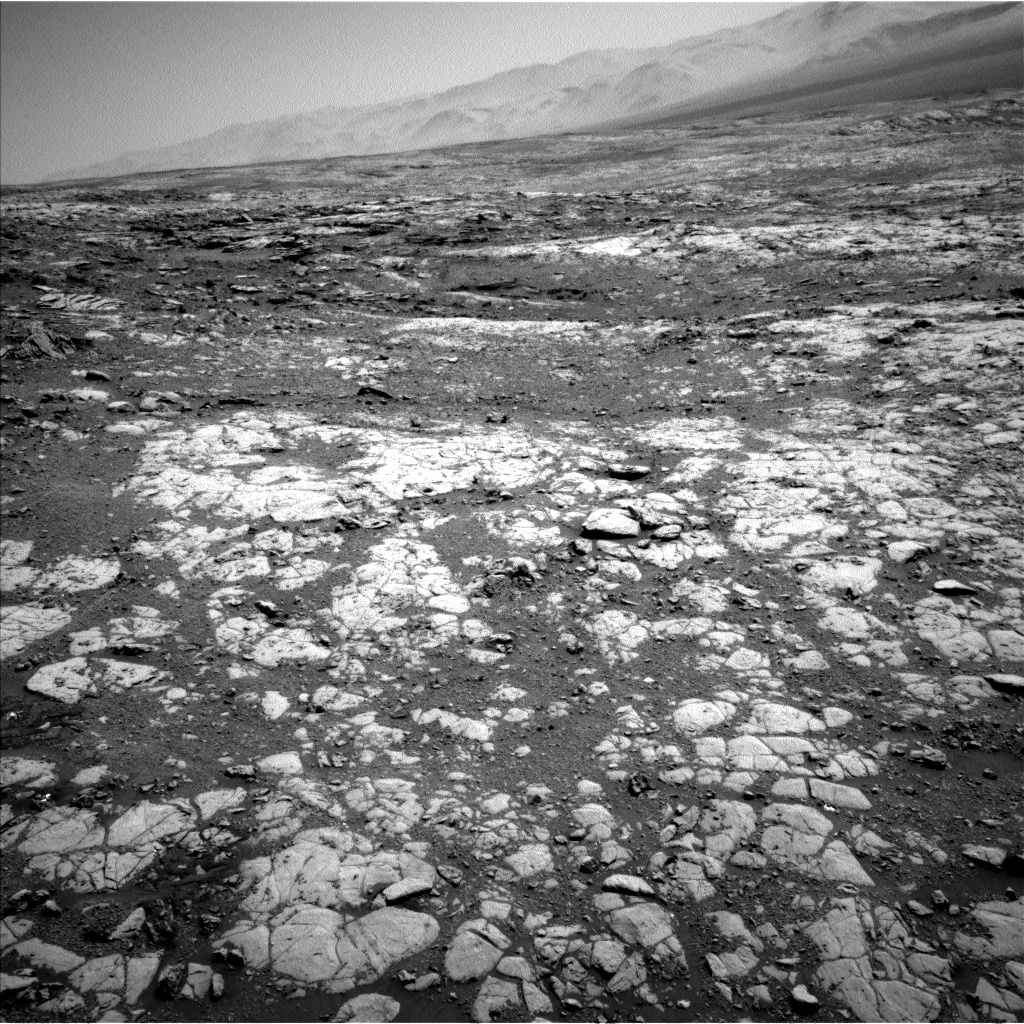 Nasa's Mars rover Curiosity acquired this image using its Left Navigation Camera on Sol 1999, at drive 2626, site number 68