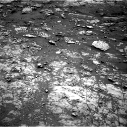 Nasa's Mars rover Curiosity acquired this image using its Right Navigation Camera on Sol 1999, at drive 2508, site number 68