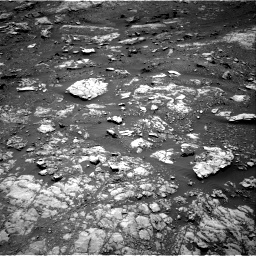 Nasa's Mars rover Curiosity acquired this image using its Right Navigation Camera on Sol 1999, at drive 2520, site number 68