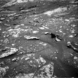 Nasa's Mars rover Curiosity acquired this image using its Right Navigation Camera on Sol 1999, at drive 2532, site number 68