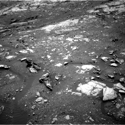 Nasa's Mars rover Curiosity acquired this image using its Right Navigation Camera on Sol 1999, at drive 2544, site number 68