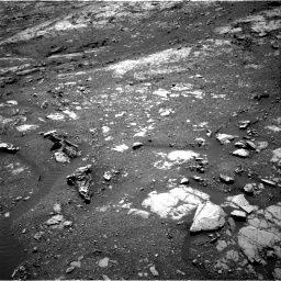 Nasa's Mars rover Curiosity acquired this image using its Right Navigation Camera on Sol 1999, at drive 2550, site number 68