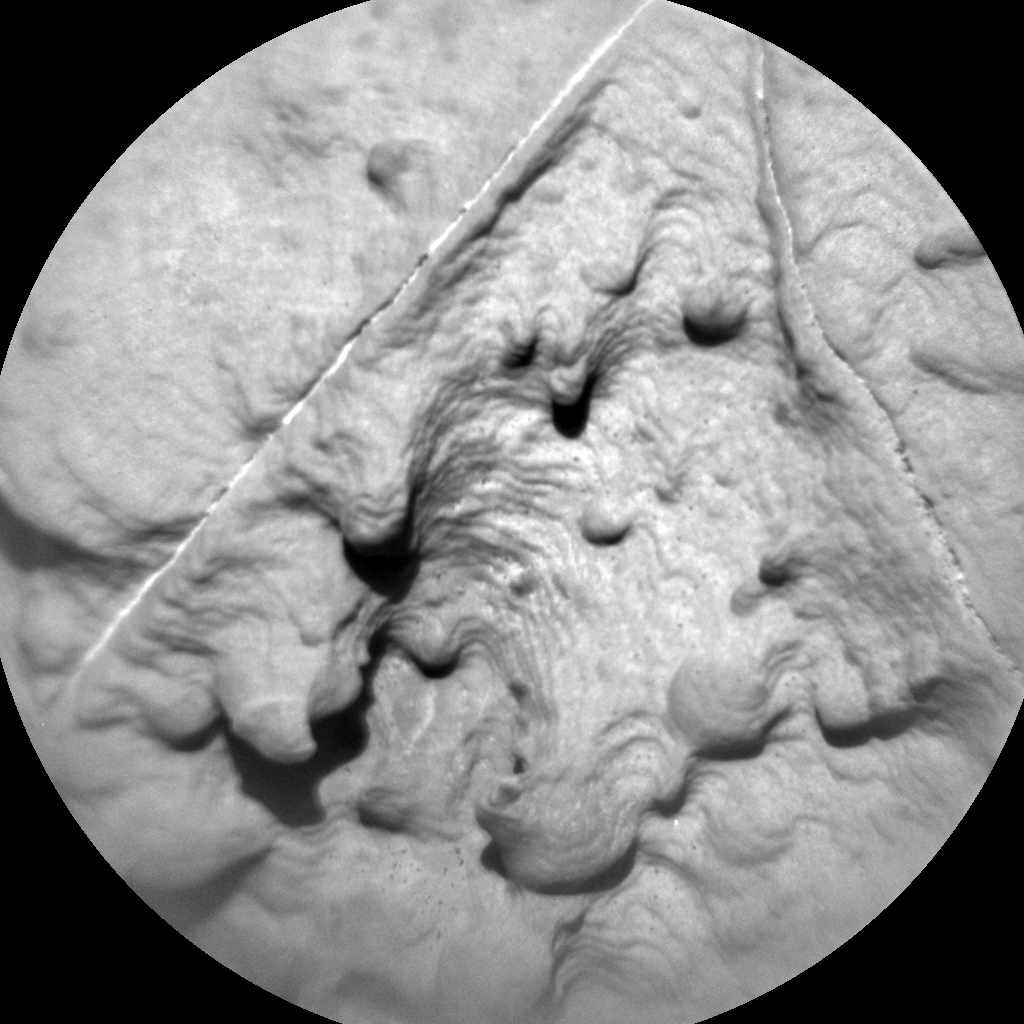 Nasa's Mars rover Curiosity acquired this image using its Chemistry & Camera (ChemCam) on Sol 2002, at drive 2626, site number 68