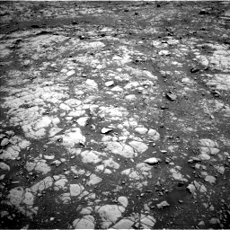 Nasa's Mars rover Curiosity acquired this image using its Left Navigation Camera on Sol 2004, at drive 12, site number 69