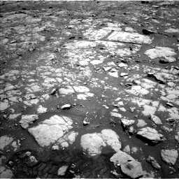Nasa's Mars rover Curiosity acquired this image using its Left Navigation Camera on Sol 2004, at drive 60, site number 69