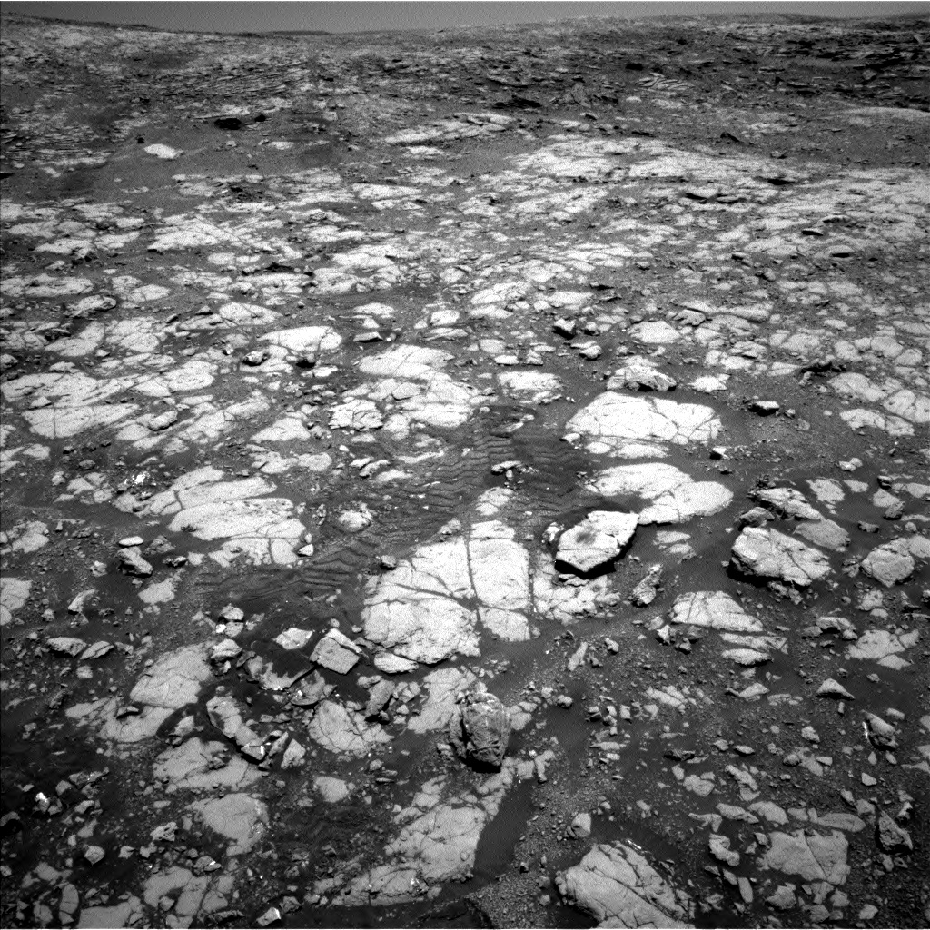 Nasa's Mars rover Curiosity acquired this image using its Left Navigation Camera on Sol 2004, at drive 90, site number 69