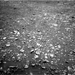 Nasa's Mars rover Curiosity acquired this image using its Left Navigation Camera on Sol 2004, at drive 162, site number 69
