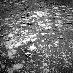 Nasa's Mars rover Curiosity acquired this image using its Left Navigation Camera on Sol 2004, at drive 312, site number 69