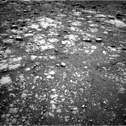 Nasa's Mars rover Curiosity acquired this image using its Left Navigation Camera on Sol 2004, at drive 318, site number 69