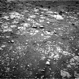 Nasa's Mars rover Curiosity acquired this image using its Left Navigation Camera on Sol 2004, at drive 324, site number 69
