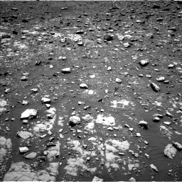 Nasa's Mars rover Curiosity acquired this image using its Left Navigation Camera on Sol 2004, at drive 354, site number 69