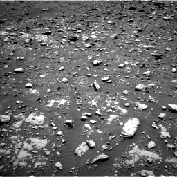 Nasa's Mars rover Curiosity acquired this image using its Left Navigation Camera on Sol 2004, at drive 360, site number 69