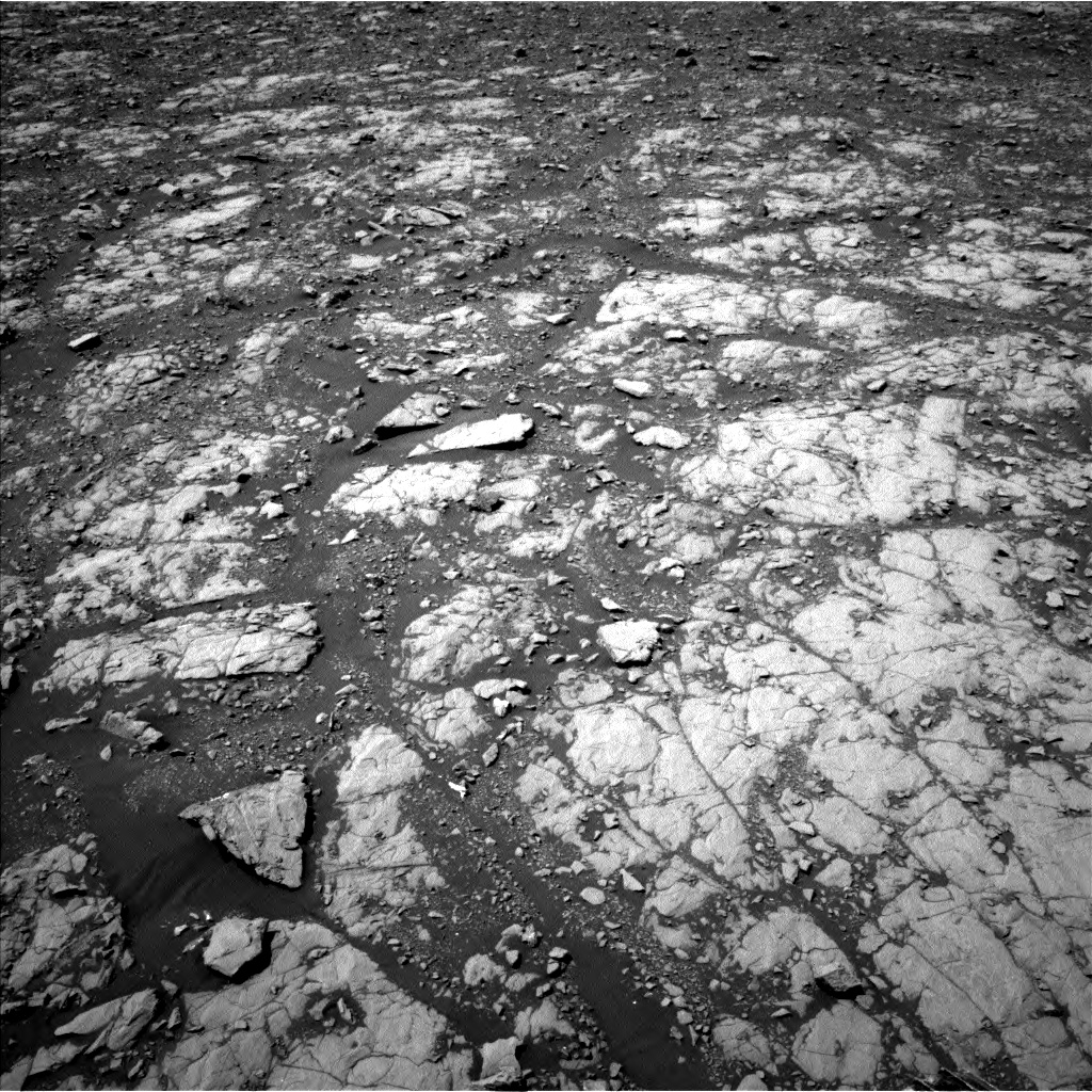 Nasa's Mars rover Curiosity acquired this image using its Left Navigation Camera on Sol 2004, at drive 372, site number 69