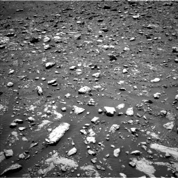 Nasa's Mars rover Curiosity acquired this image using its Left Navigation Camera on Sol 2004, at drive 378, site number 69