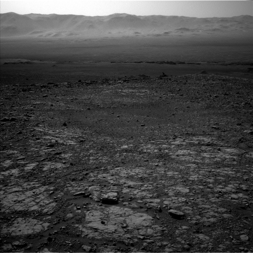 Nasa's Mars rover Curiosity acquired this image using its Left Navigation Camera on Sol 2004, at drive 408, site number 69