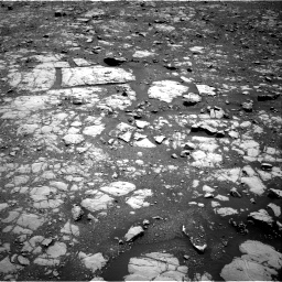 Nasa's Mars rover Curiosity acquired this image using its Right Navigation Camera on Sol 2004, at drive 24, site number 69