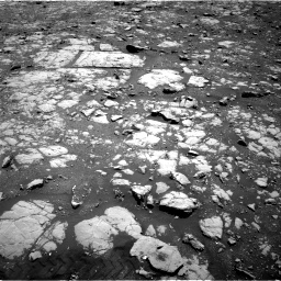 Nasa's Mars rover Curiosity acquired this image using its Right Navigation Camera on Sol 2004, at drive 42, site number 69