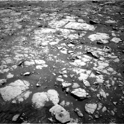 Nasa's Mars rover Curiosity acquired this image using its Right Navigation Camera on Sol 2004, at drive 60, site number 69